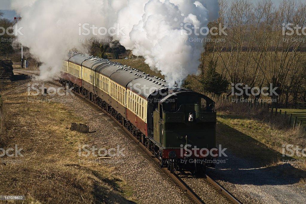Classic Tank Locomotive stock photo