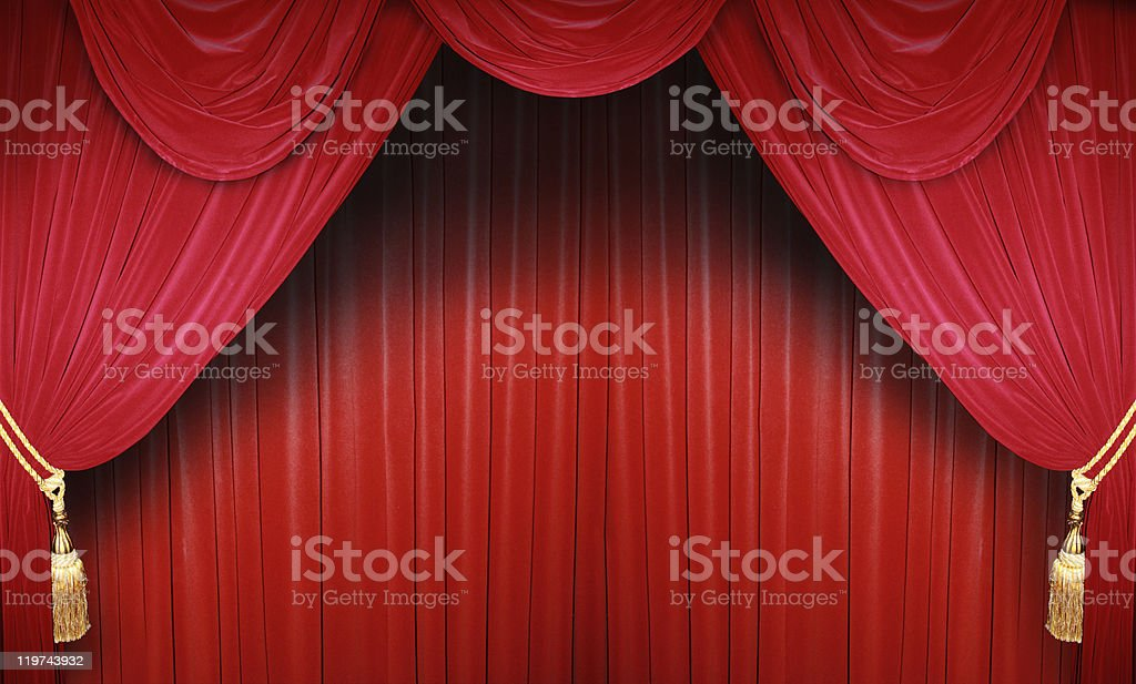 Classic Theater royalty-free stock photo