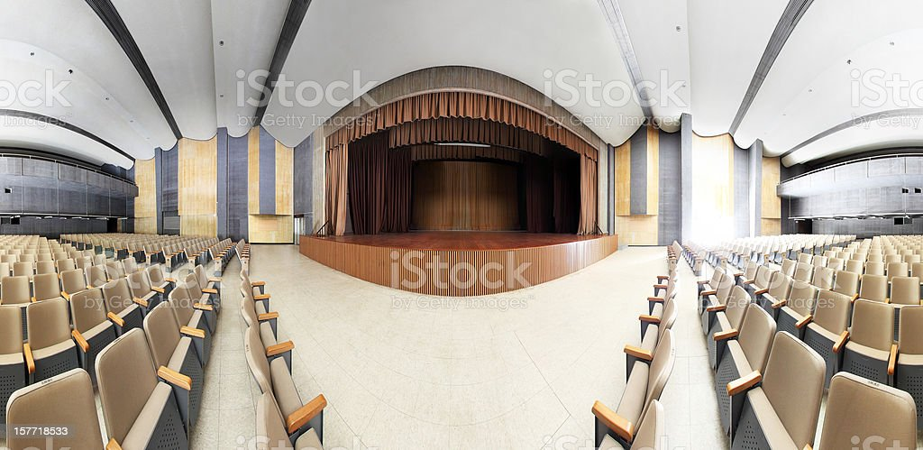 Classic Theatre royalty-free stock photo