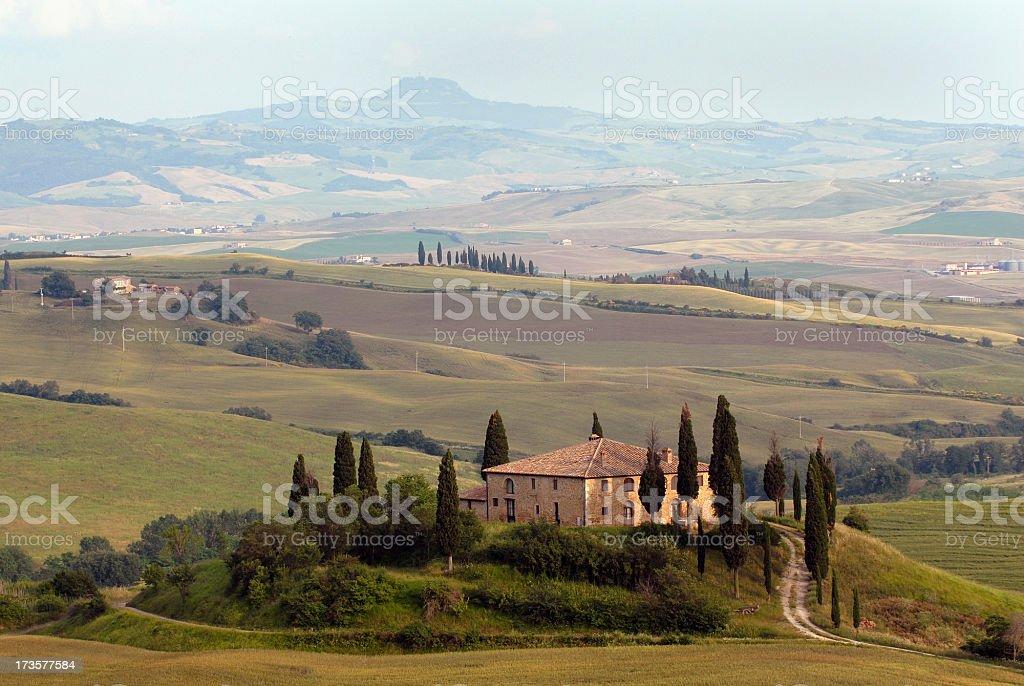 Classic Tuscany royalty-free stock photo
