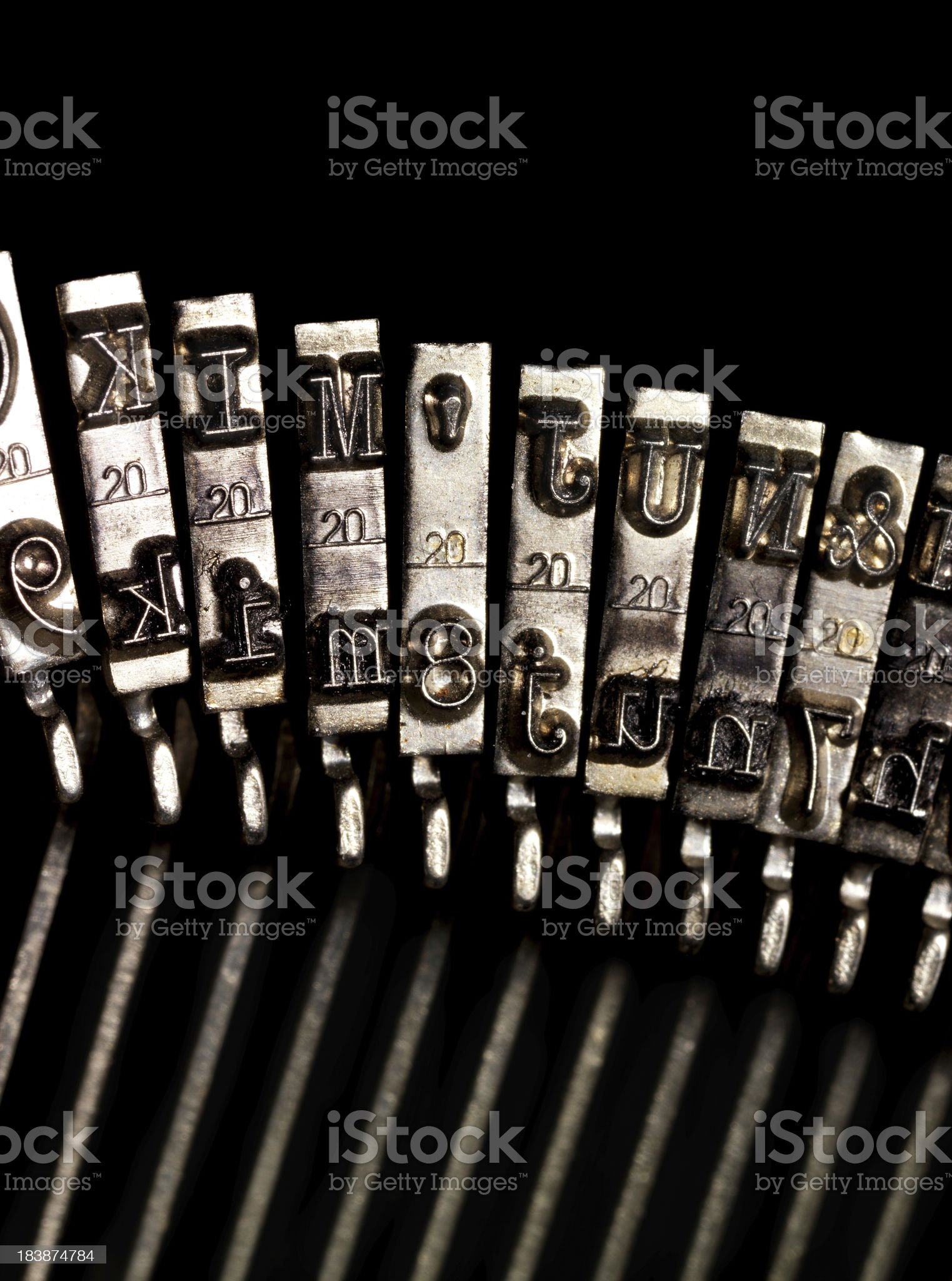 classic typewriter royalty-free stock photo