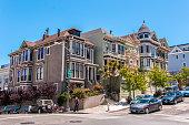Classic Victorian house in San Francisco, California, USA