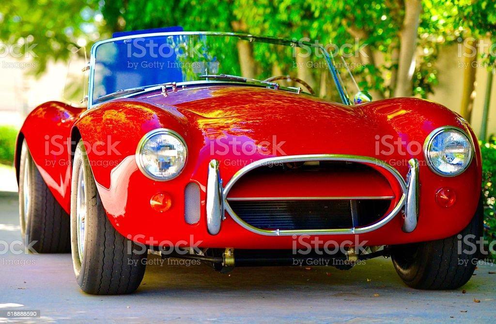 Classic Vintage Car stock photo