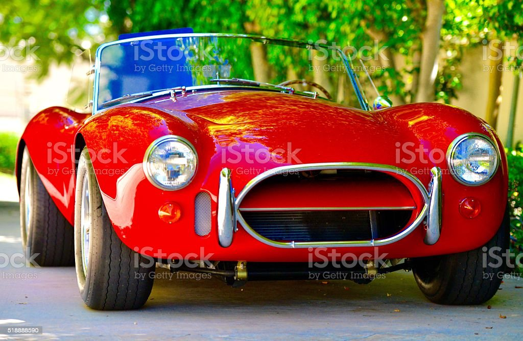 Classic Vintage Car stock photo