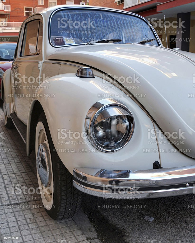 Classic Volkswagen Beetle royalty-free stock photo