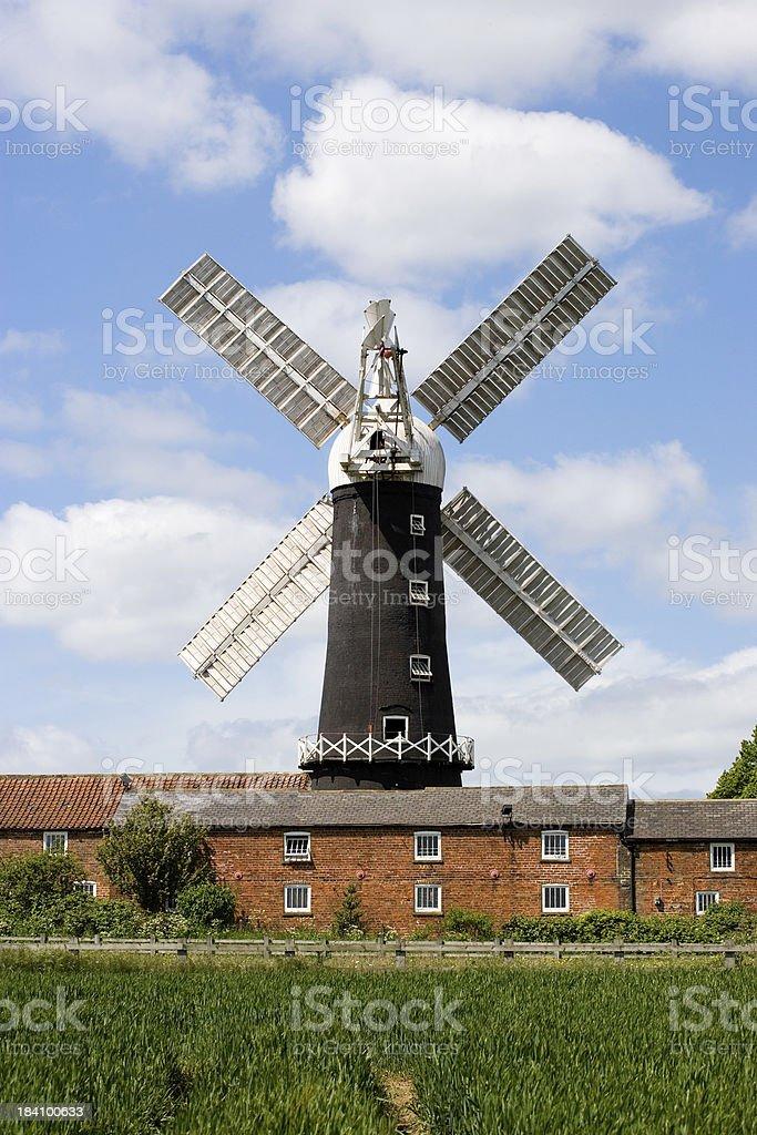 Classic Windmill stock photo