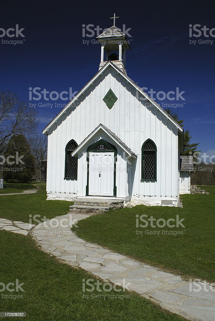 Classic Wooden Church royalty-free stock photo