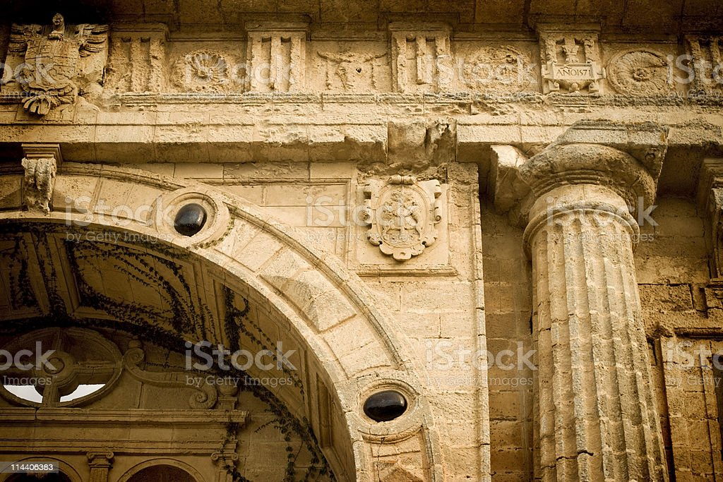 Classical Arch Detail royalty-free stock photo