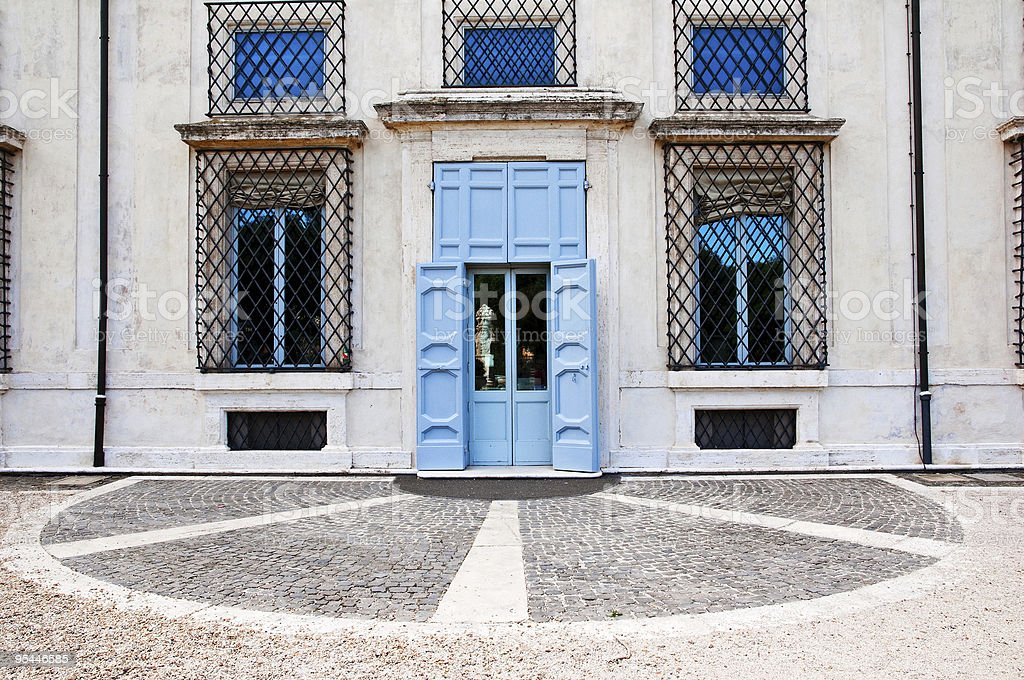 Classical architecture details stock photo