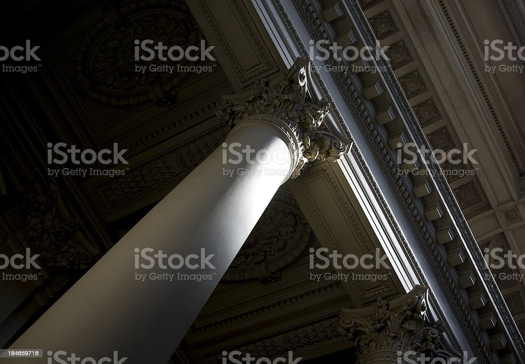 Classical architecture stock photo