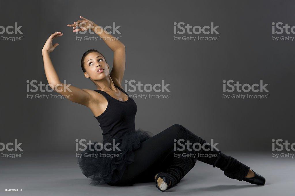 Classical Ballerina stock photo