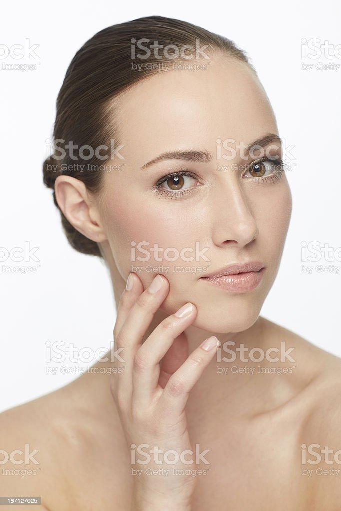 Classical Beauty royalty-free stock photo