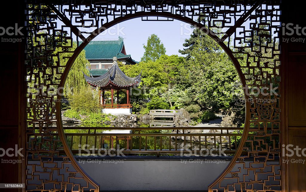 Classical Chinese Garden royalty-free stock photo