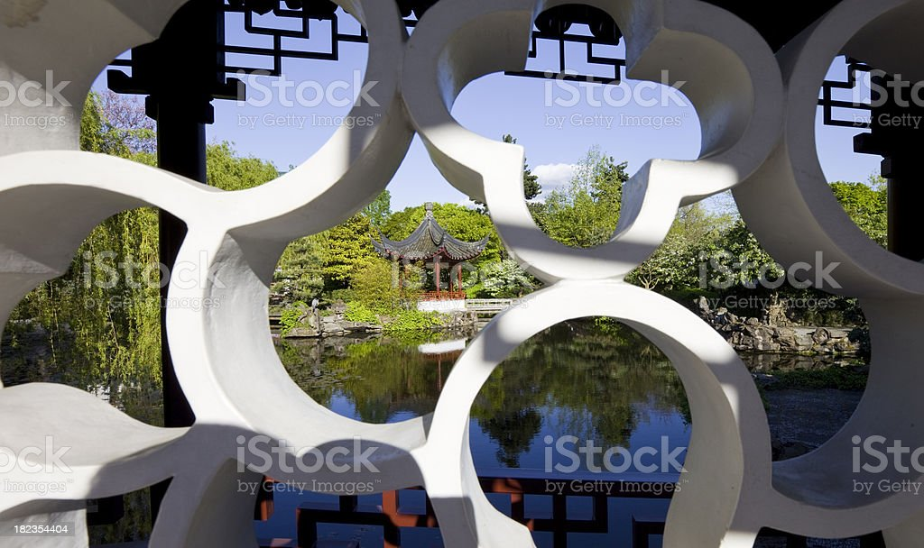 Classical Chinese Garden stock photo