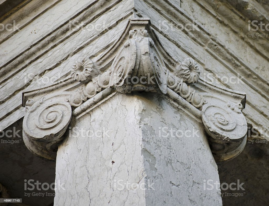 Classical column royalty-free stock photo