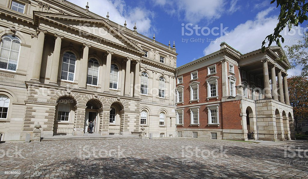 Classical courthouse architecture royalty-free stock photo