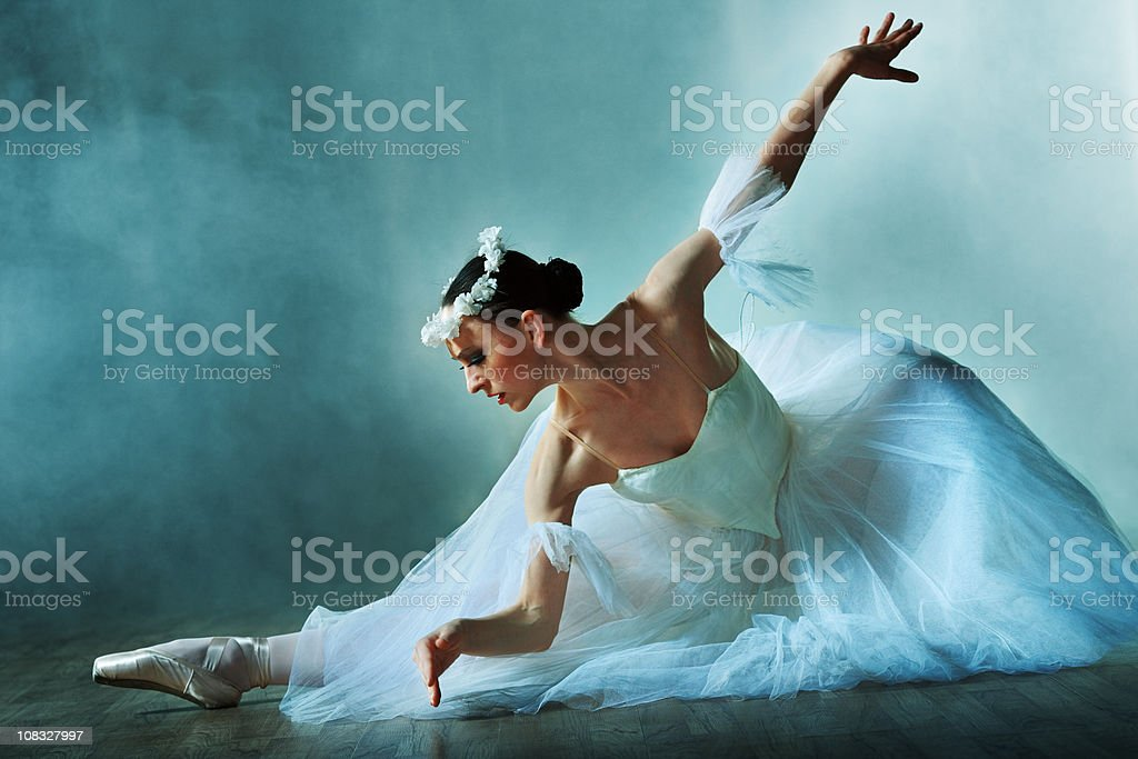 classical dancer royalty-free stock photo