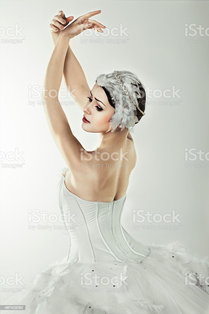 classical dancer stock photo