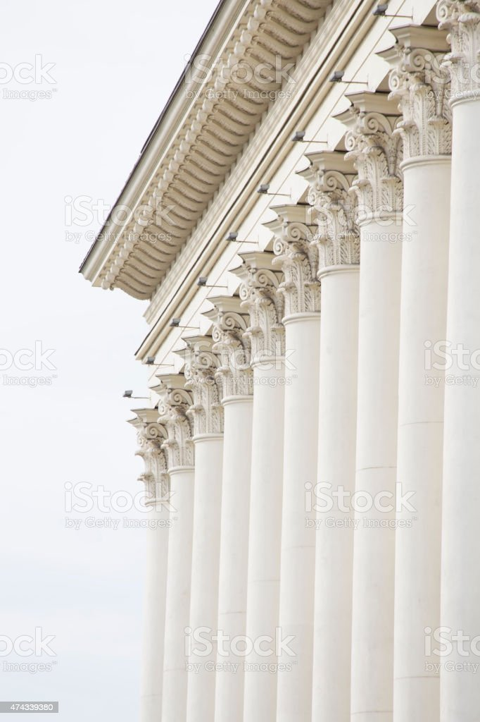 Classical fasade stock photo