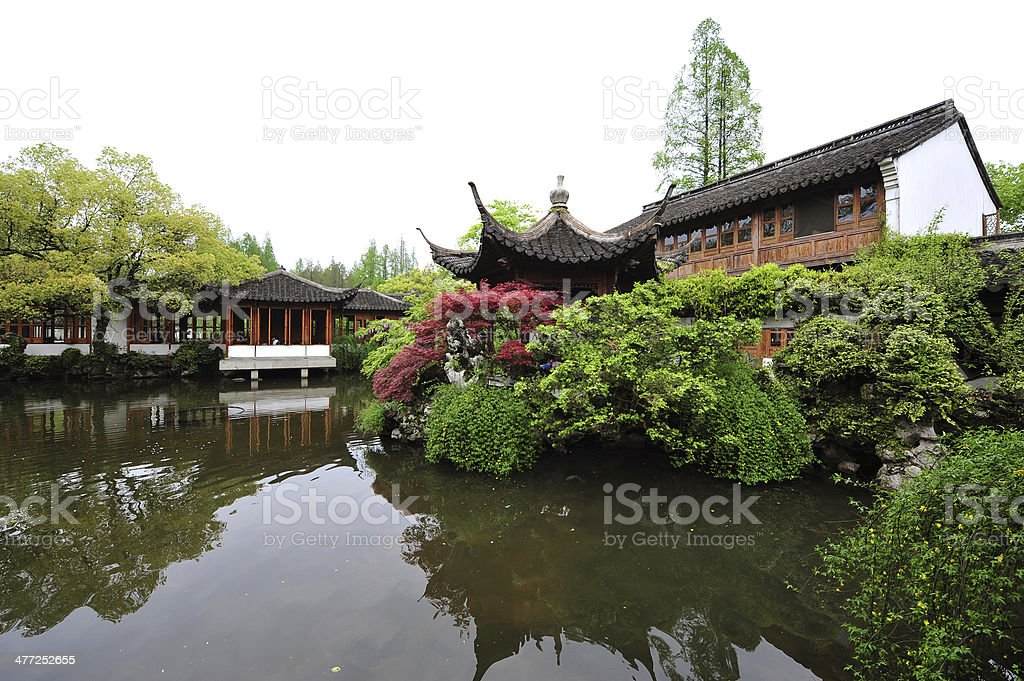 Classical Gardens of Suzhou stock photo