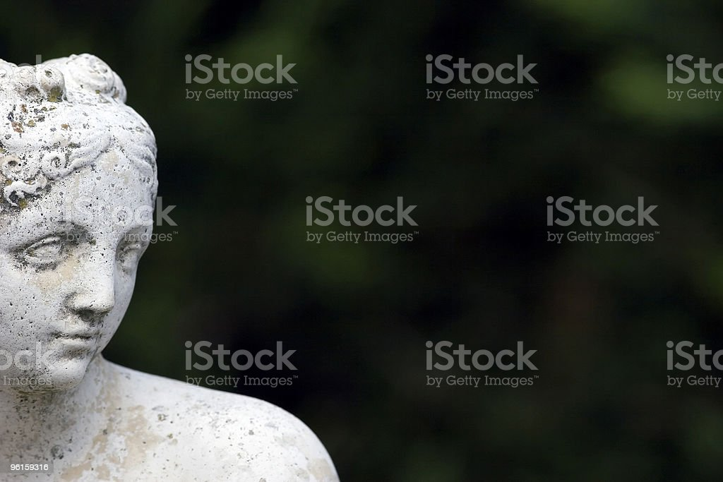 Classical Greek Statue royalty-free stock photo