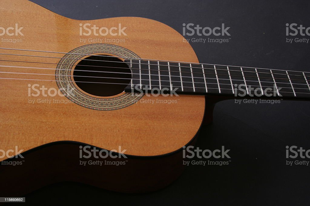 classical guitar royalty-free stock photo