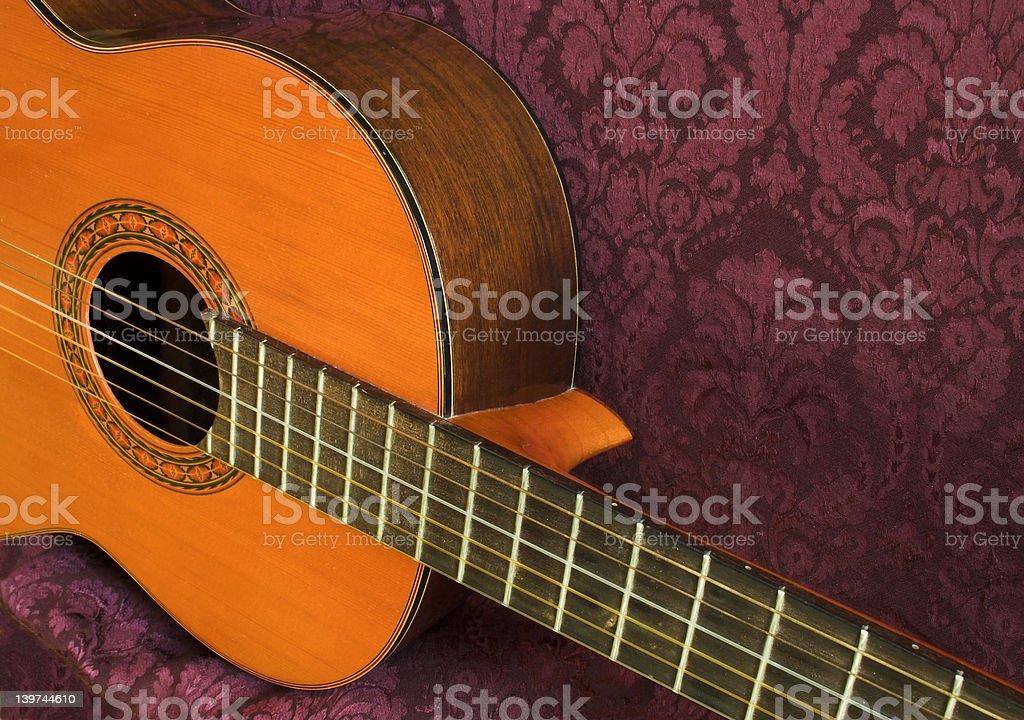 Gitara klasyczna zbiór zdjęć royalty-free