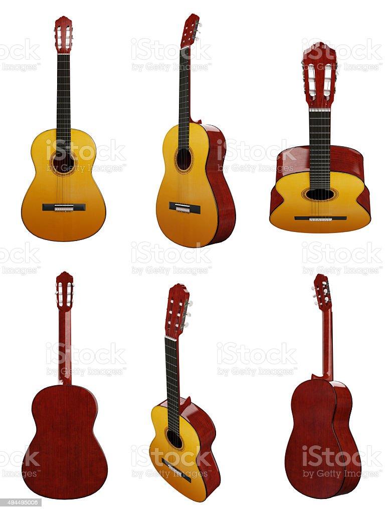 classical guitar(XXXXXL) stock photo