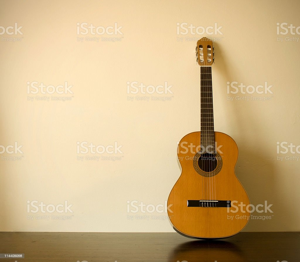 Classical Guitar Still Life 3 stock photo