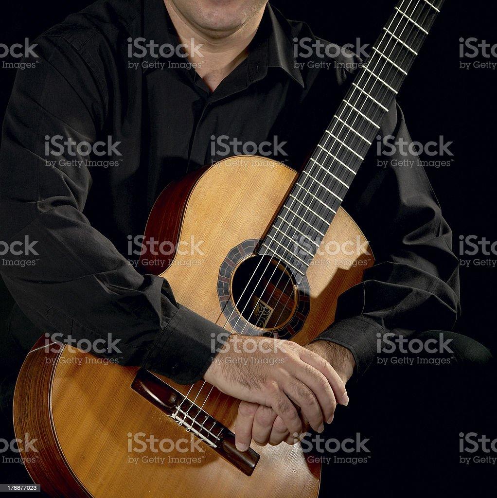 Classical Guitarist stock photo