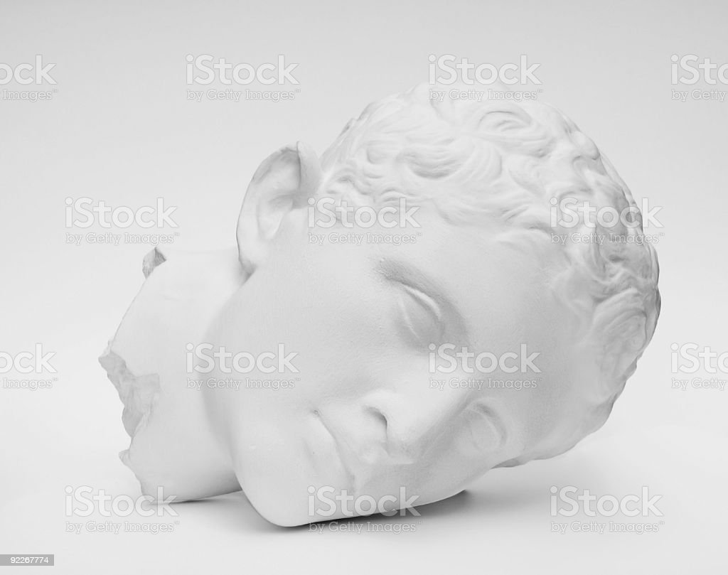 Classical Head. royalty-free stock photo