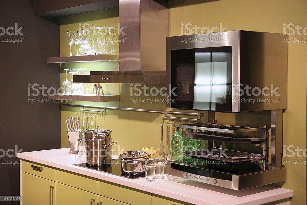Classical kitchen stock photo