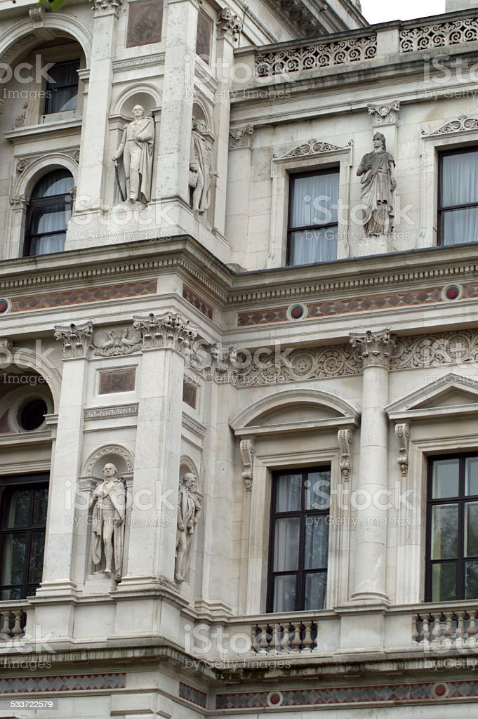 Classical London Architecture stock photo