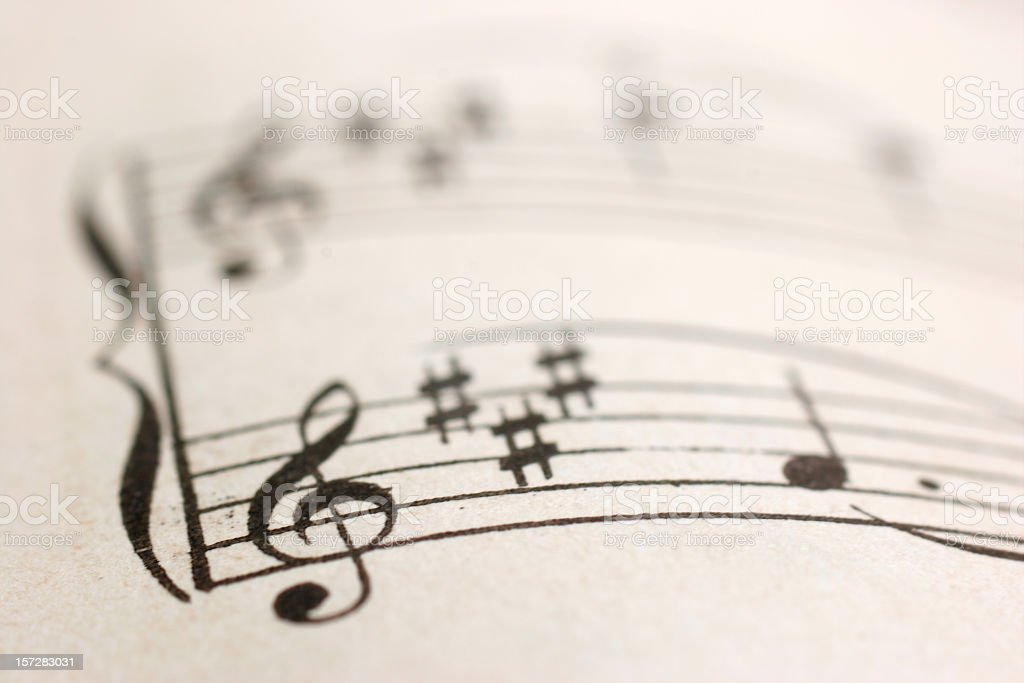 Classical Music stock photo