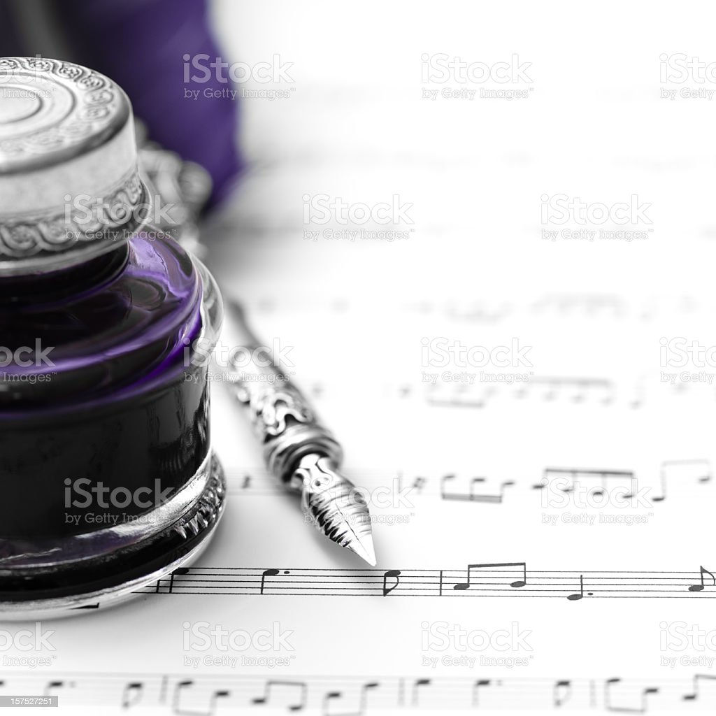 Classical music royalty-free stock photo