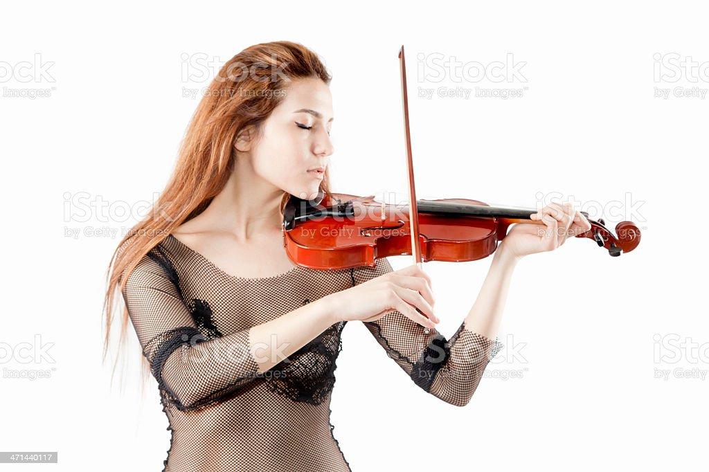 Classical musician stock photo