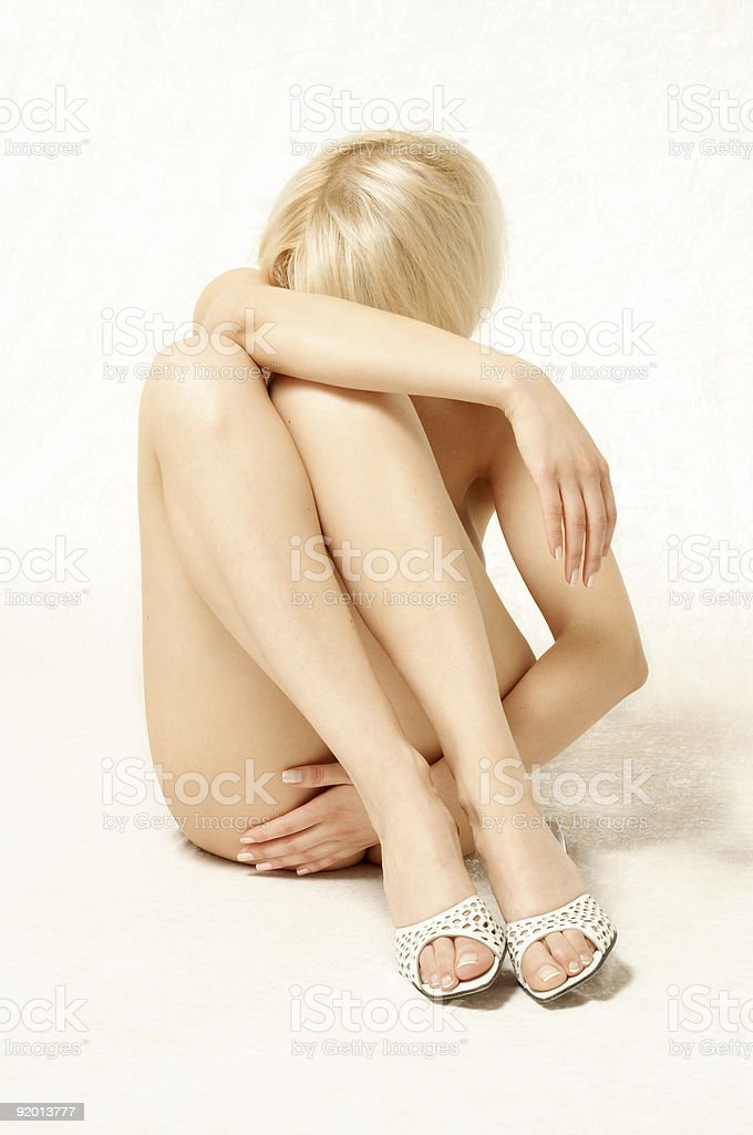 classical nude royalty-free stock photo