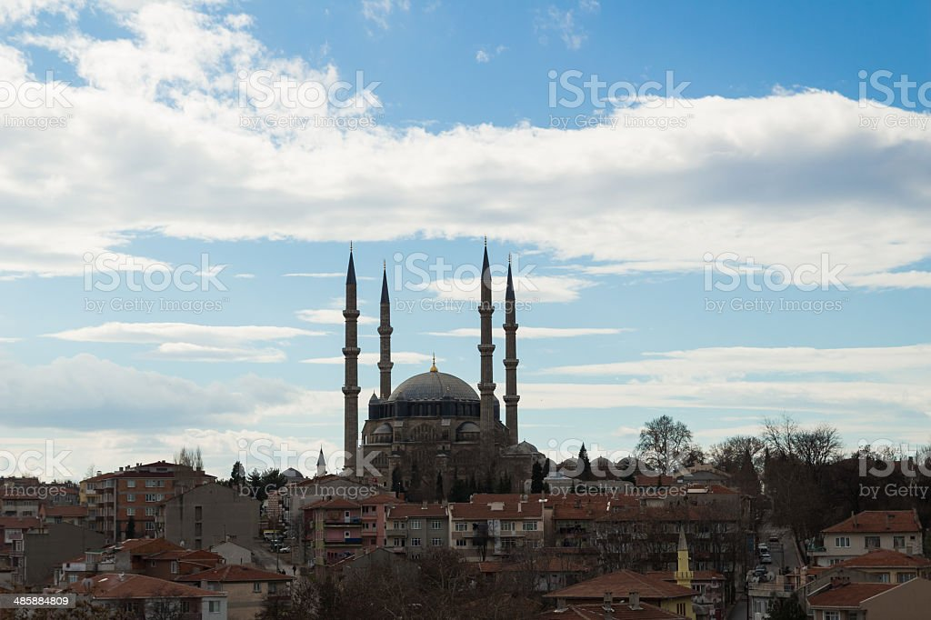 Classical Ottoman Mosque Architecture royalty-free stock photo