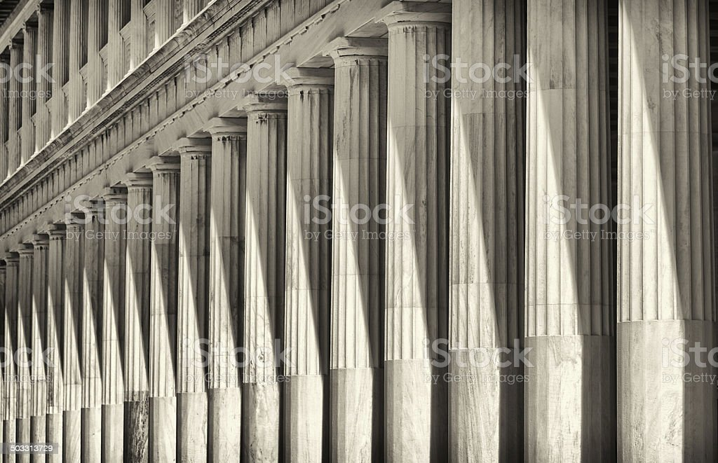 Classical Perspective stock photo