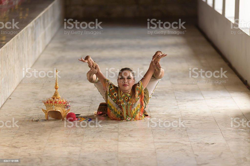 classical Thai tune, Manohra stock photo