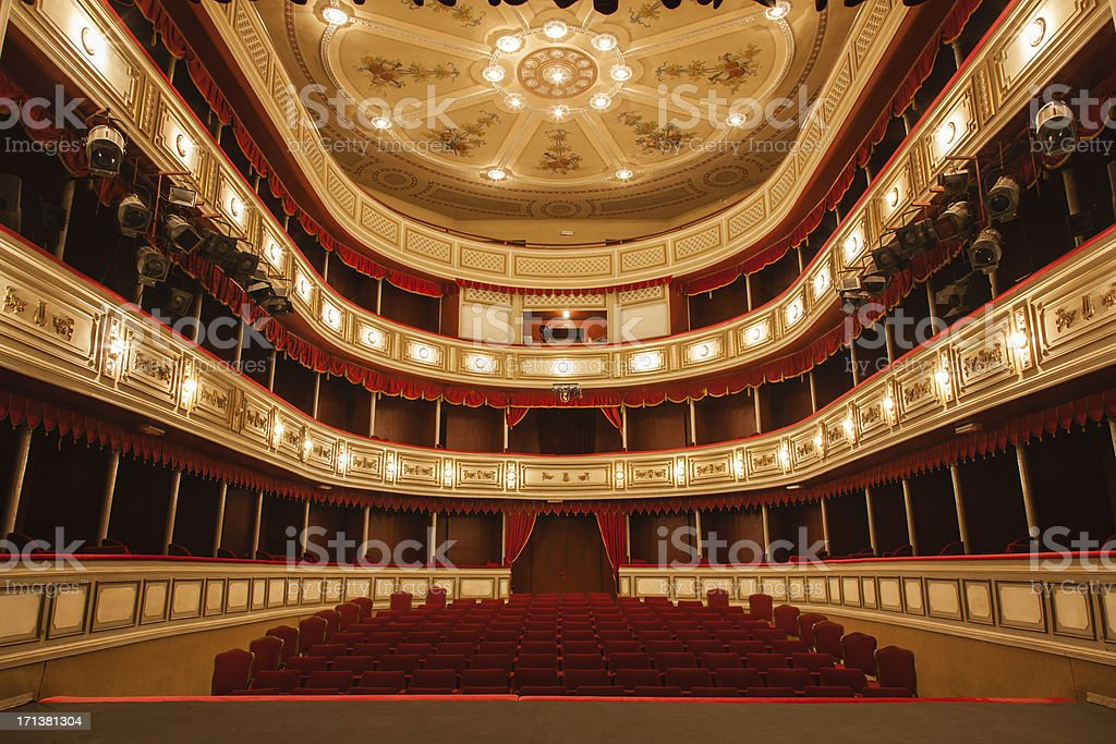 Classical Theater stock photo