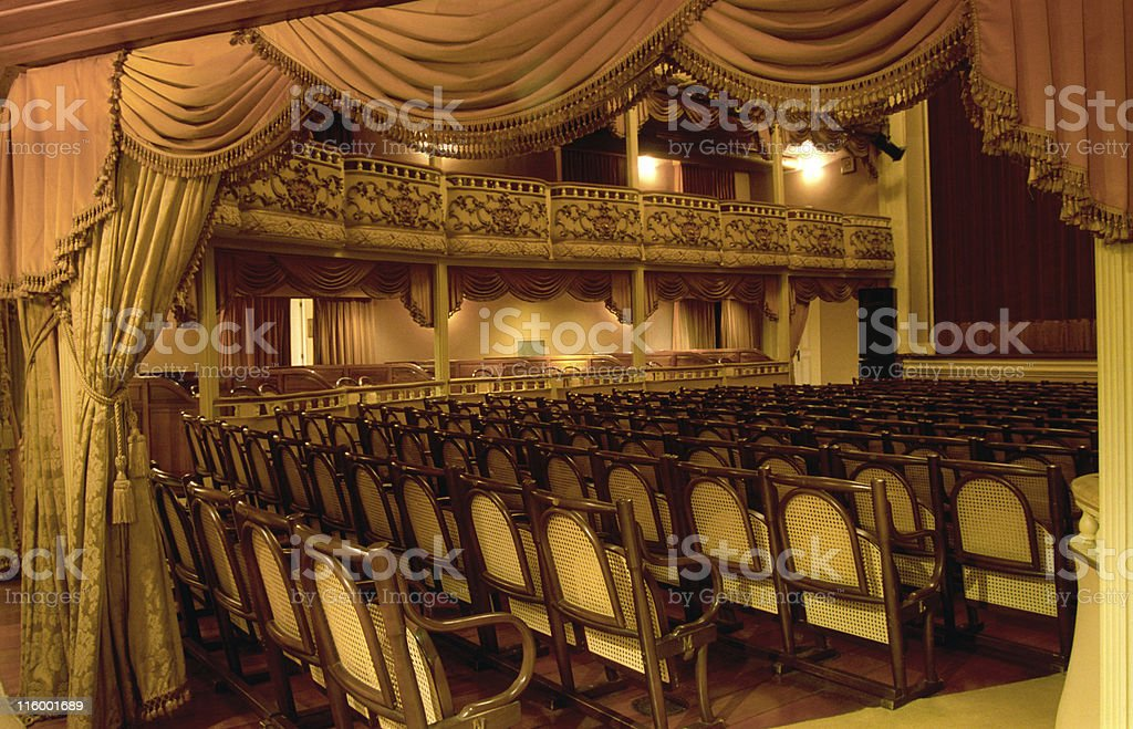 Classical Theatre royalty-free stock photo