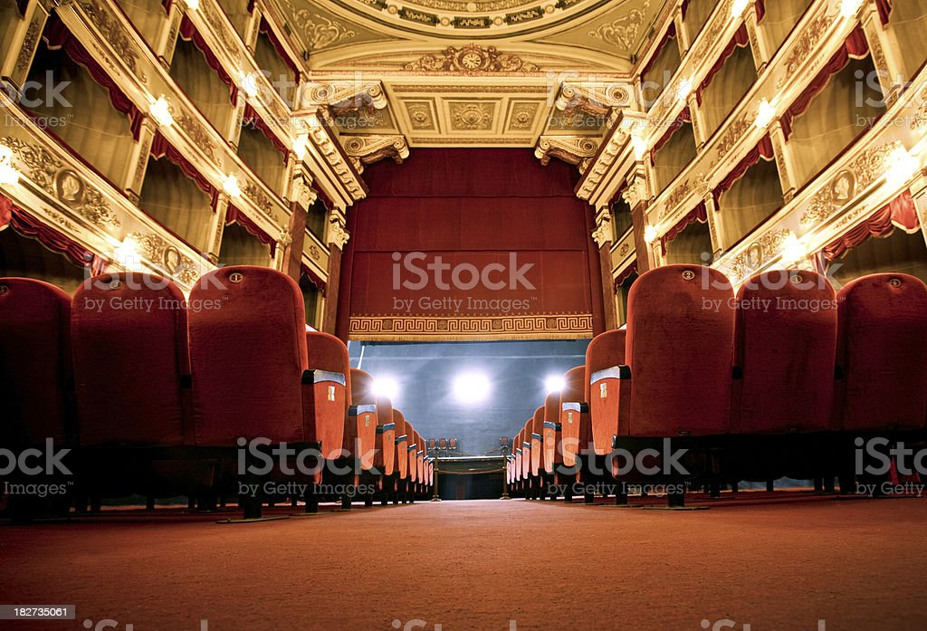 Classical Theatre stock photo