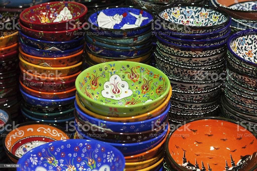 Classical Turkish souvenirs royalty-free stock photo
