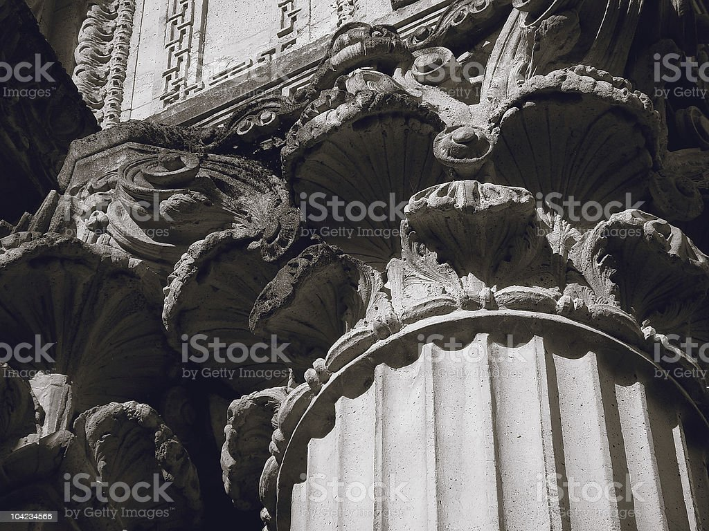 Classicism royalty-free stock photo