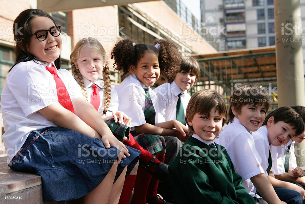 classmates royalty-free stock photo