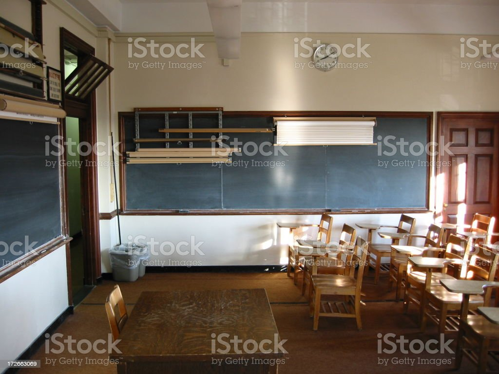 Classroom - B royalty-free stock photo