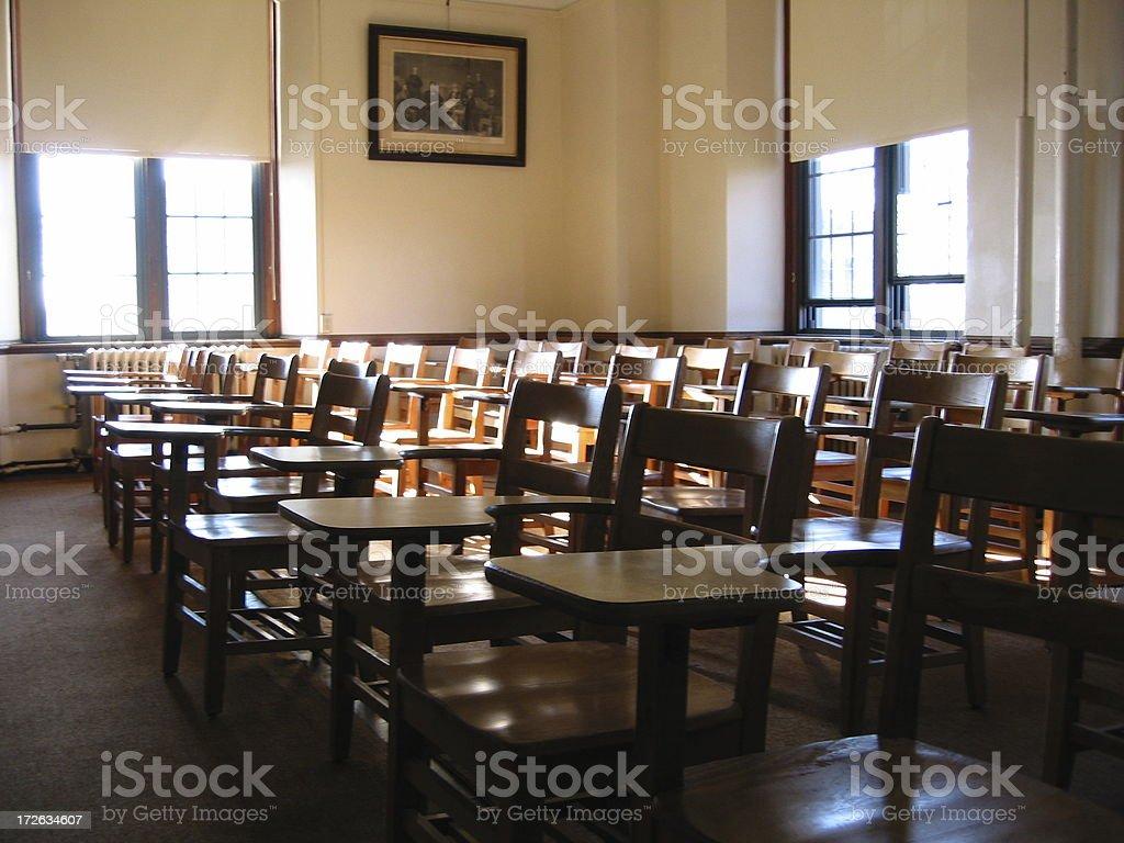 Classroom - C royalty-free stock photo