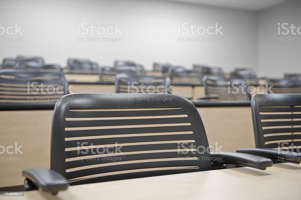 Classroom Chair royalty-free stock photo