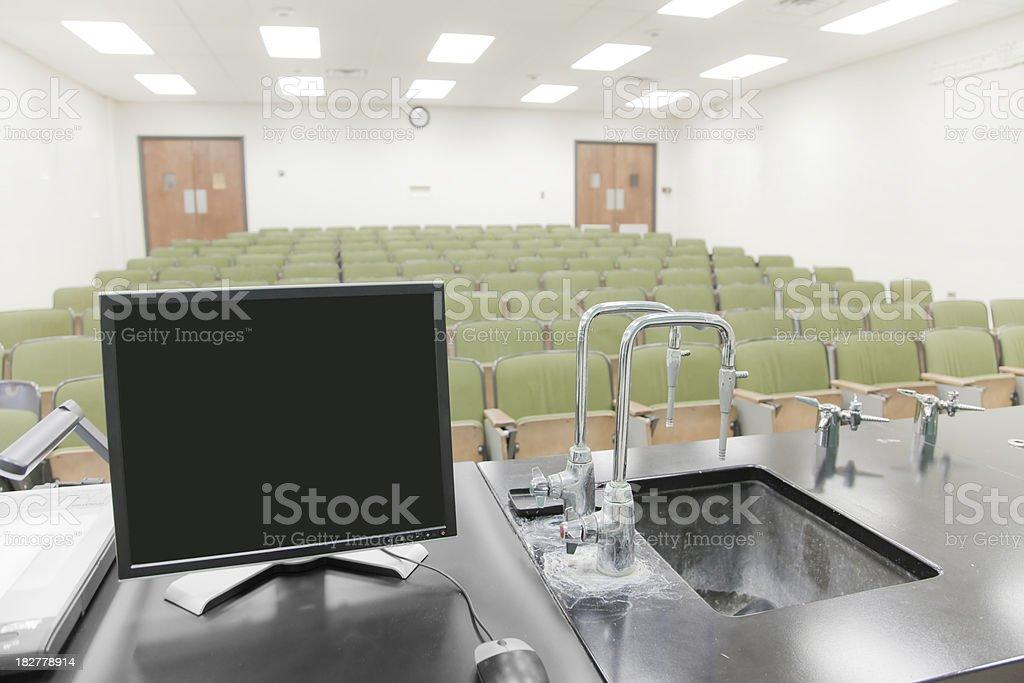 Classroom Computer royalty-free stock photo